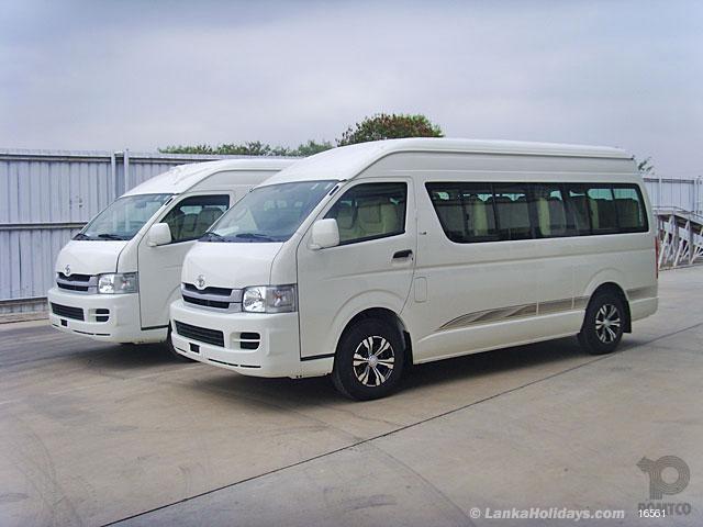 Rent a car in Sri Lanka - Van / Car hire in Sri Lanka