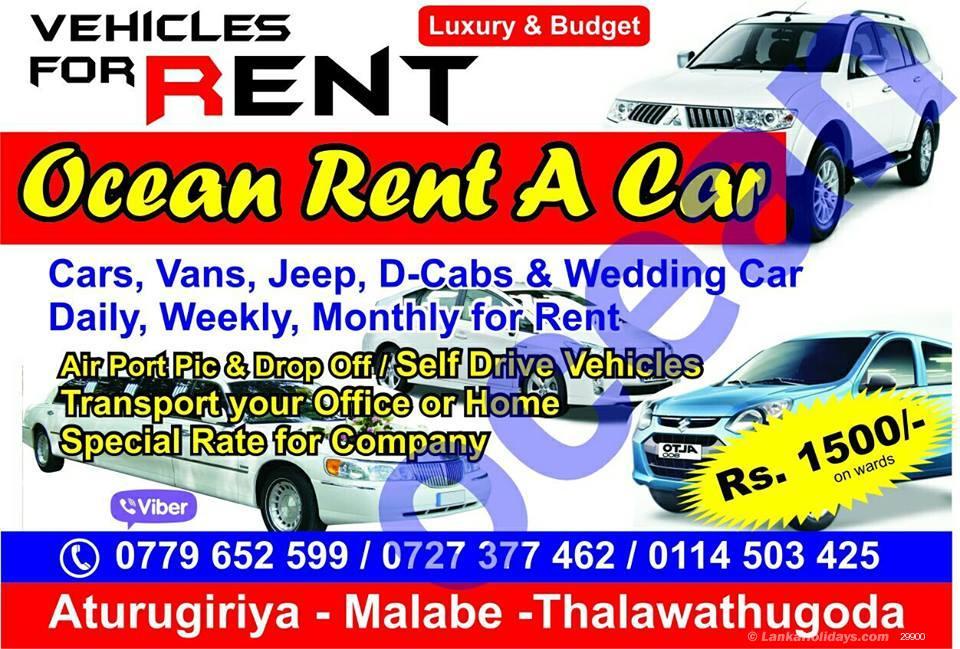 Sri Lanka Car Rentals Hire Ocean Rent A Car